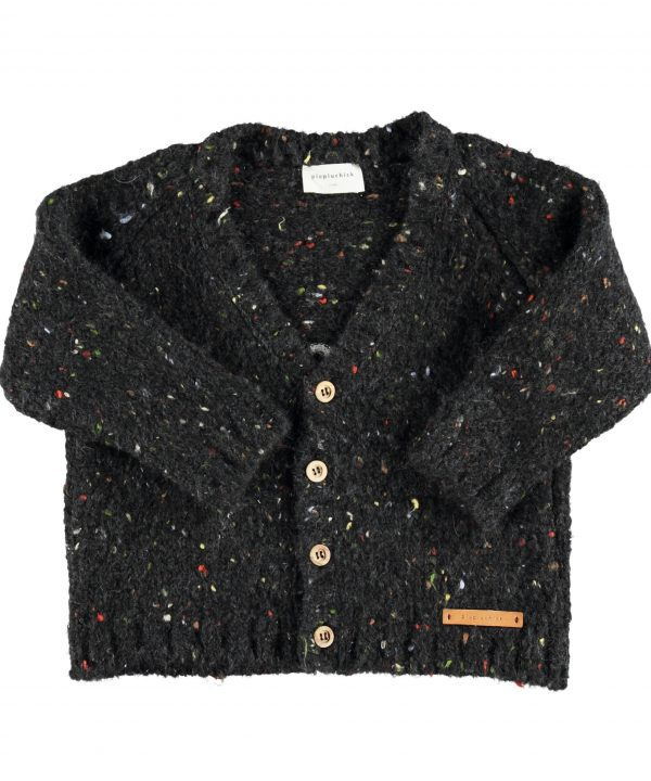 piupiuchick knitted v-neck jacket