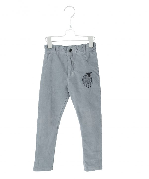 Lötiekids 5 Pockets Corduroy Pants Mid Grey