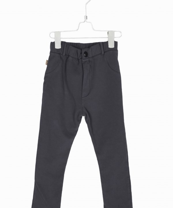 Lötiekids 5 Pockets Terry Fleece Pants Vintage Black