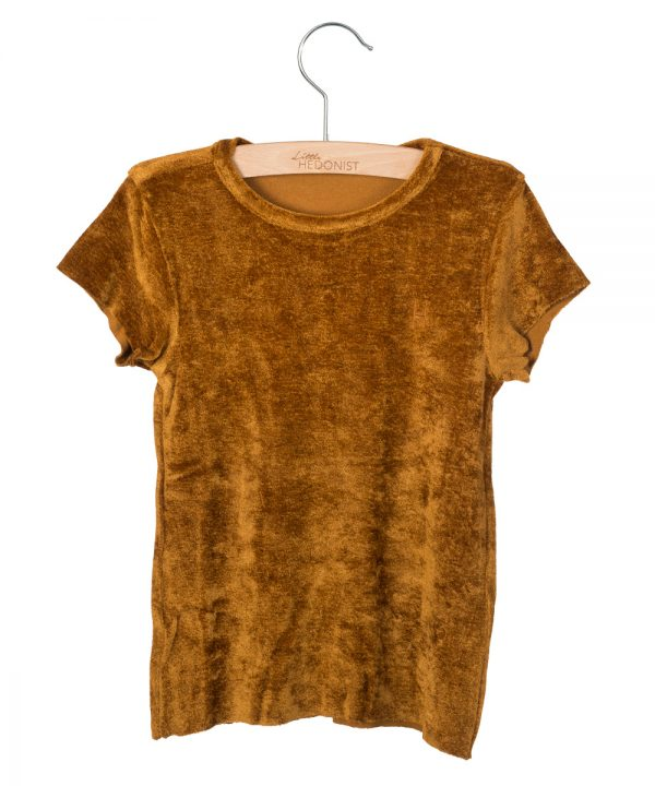 Little Hedonist T-Shirt Dean Gold