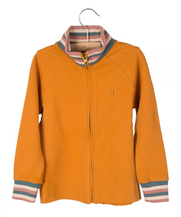 Little Hedonist Track Jacket Mickey Pumpkin Spice