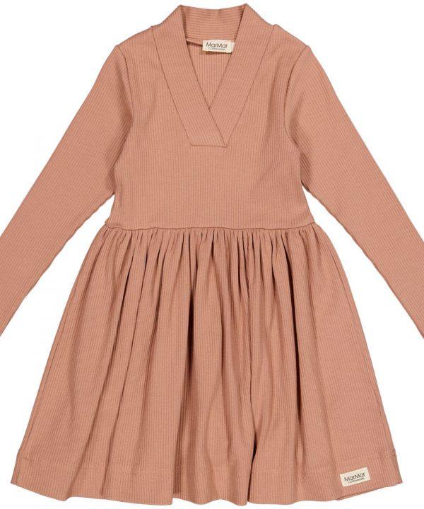 MarMar Copenhagen Dress Rose Brown