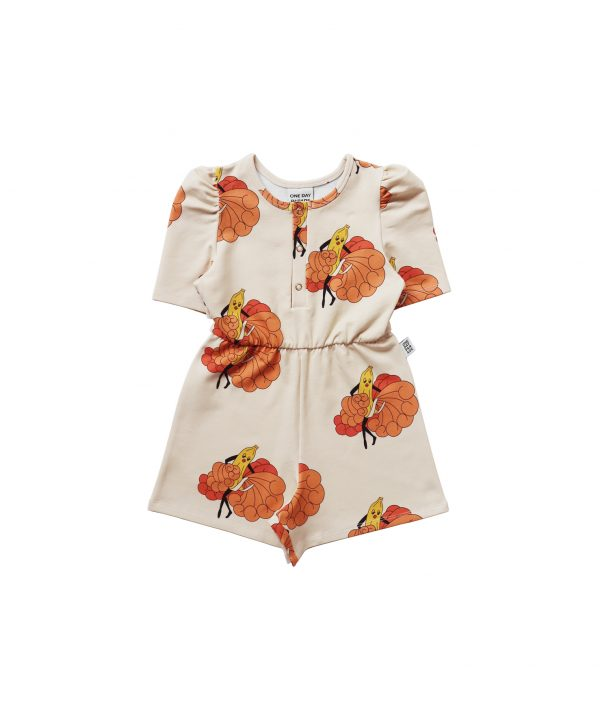 One Day Parade Puffed Playsuit