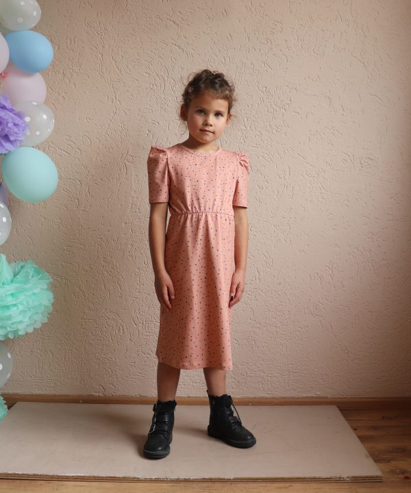 One day Parade puffed dress confetti