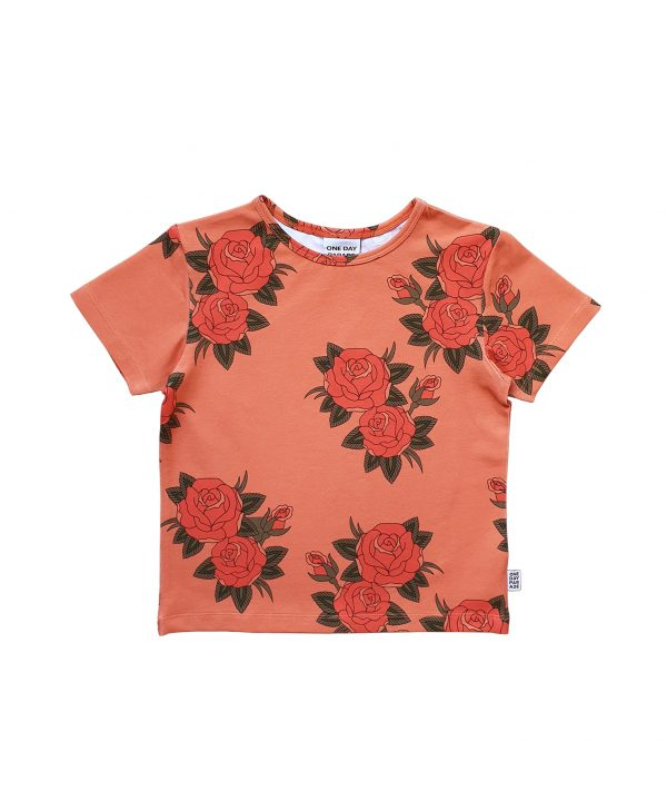 One day Parade t-shirt pink roses