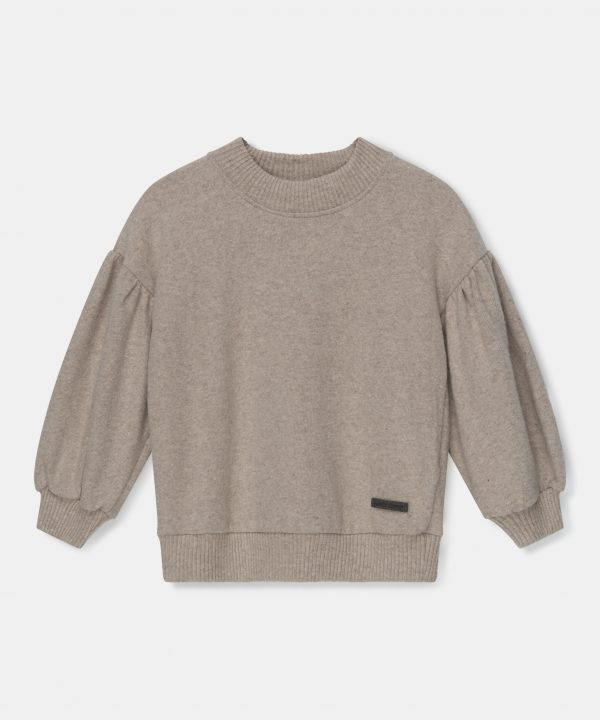 My Little Cozmo Knit Puff Sleeves Sweater