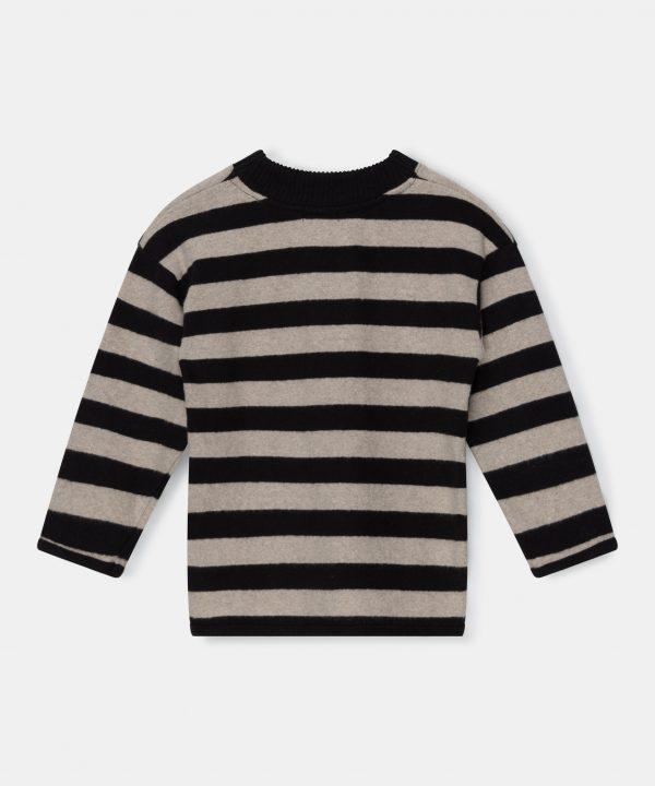 My Little Cozmo Stripe Knit Sweater