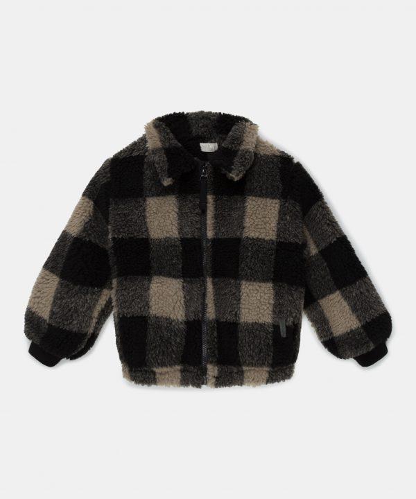 My Little Cozmo Plaid Sherpa Jacket
