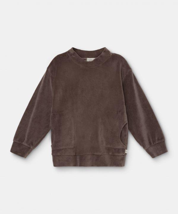 my-little-cozmo-velour sweatshirt