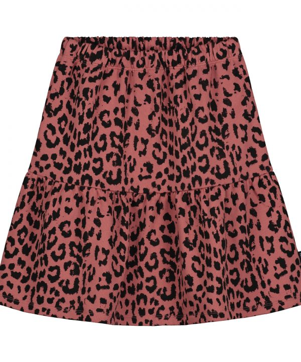 Daily Brat Karli Leopard Skirt
