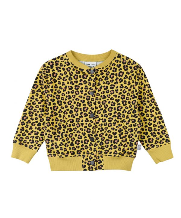 One Day Parade Leopard Cardigan