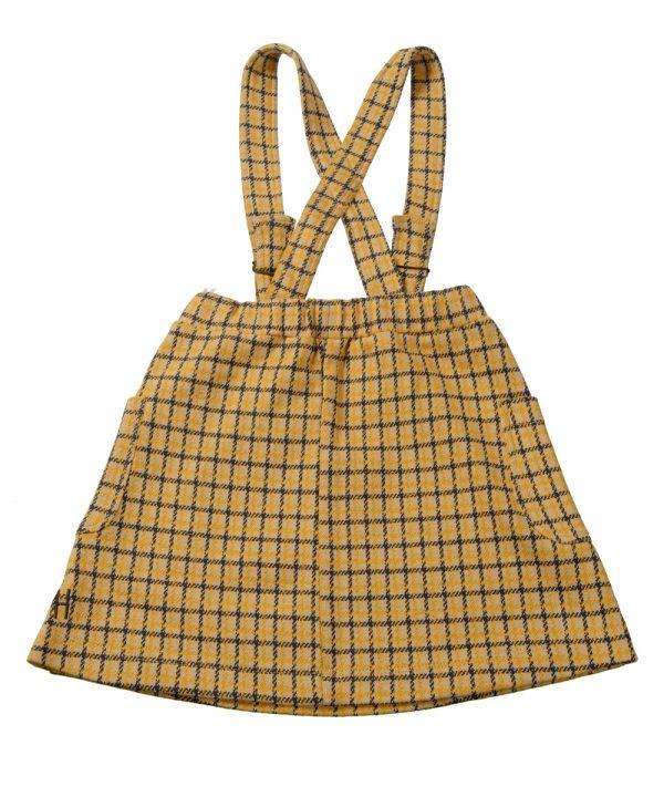 Little Hedonist Mia Shoulder Strap Skirt